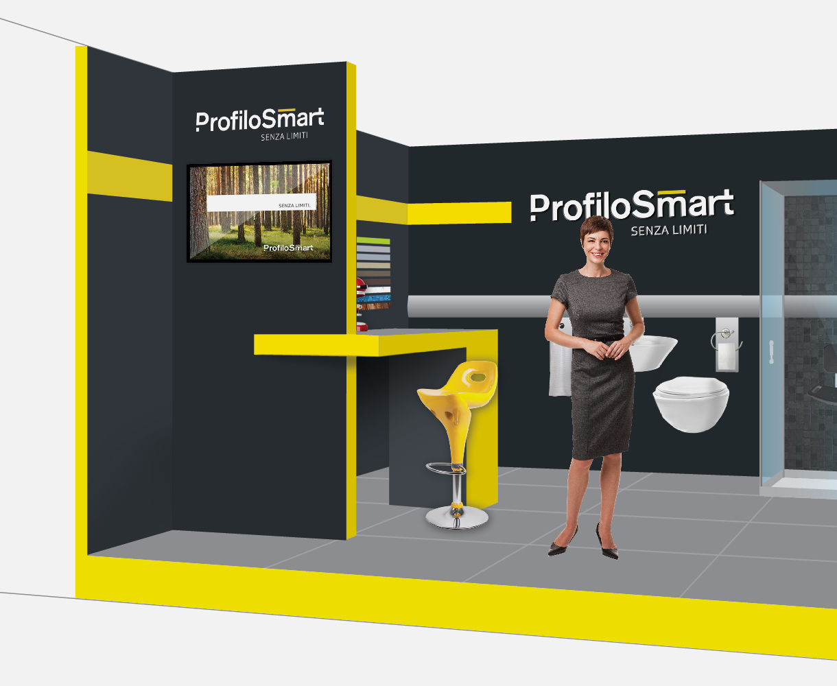 ProfiloSmart conference exhibition tradeshow design