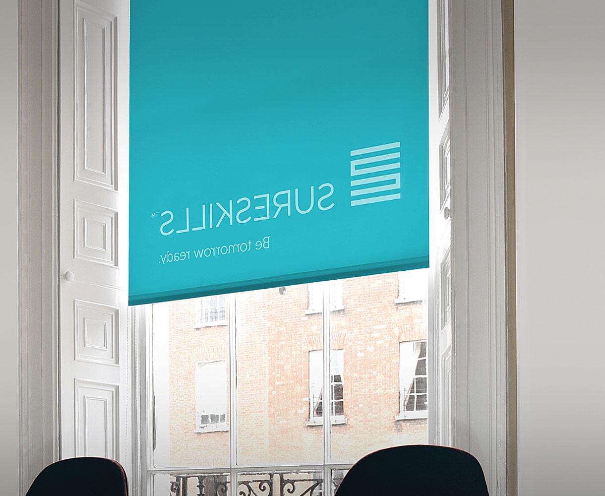 Sureskills Brand Identity Development office fitout refit