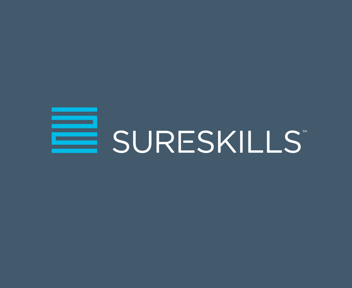 Sureskills Brand development identity mark