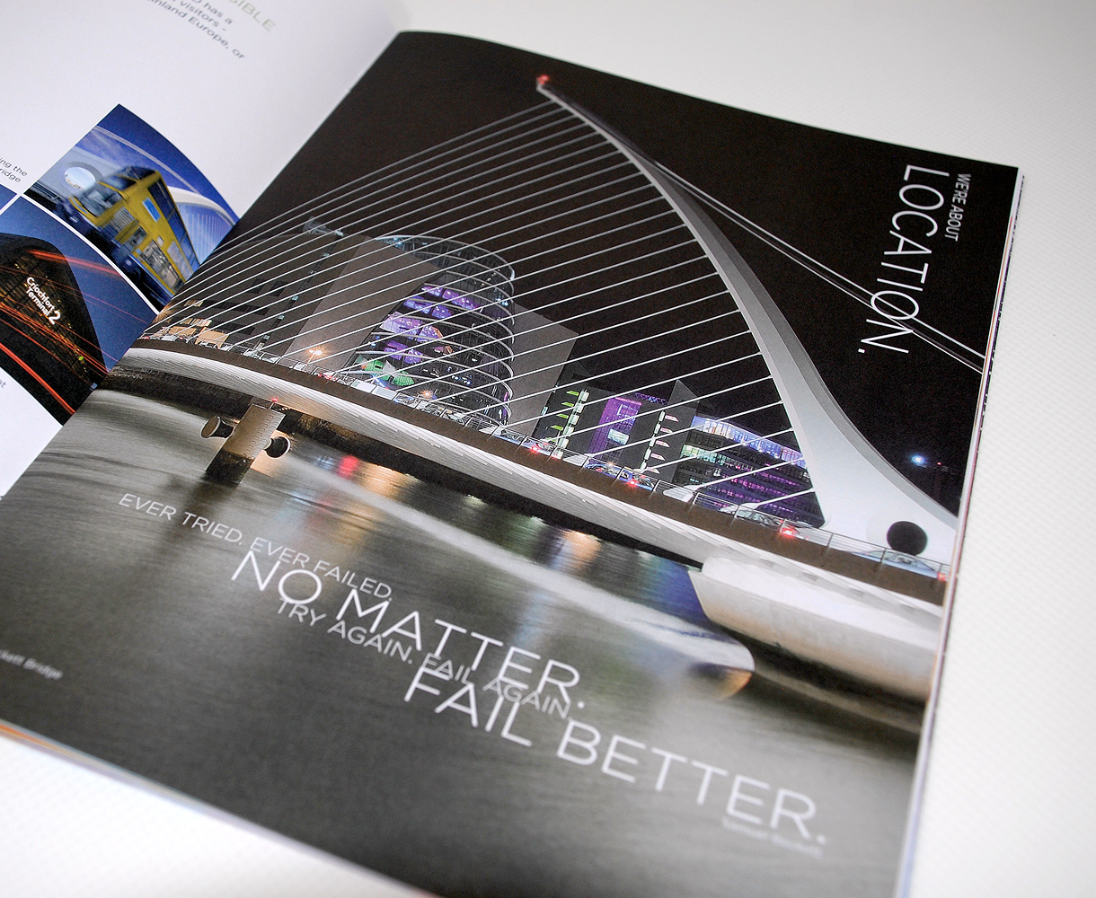 The convention Centre Dublin Brochure Design