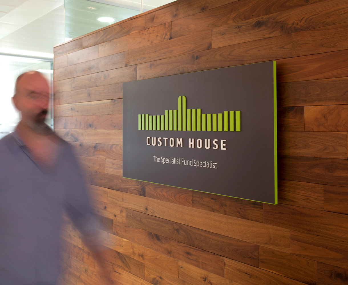 Principle brand agency Dublin Custom House Group Brand Project Internal Signage