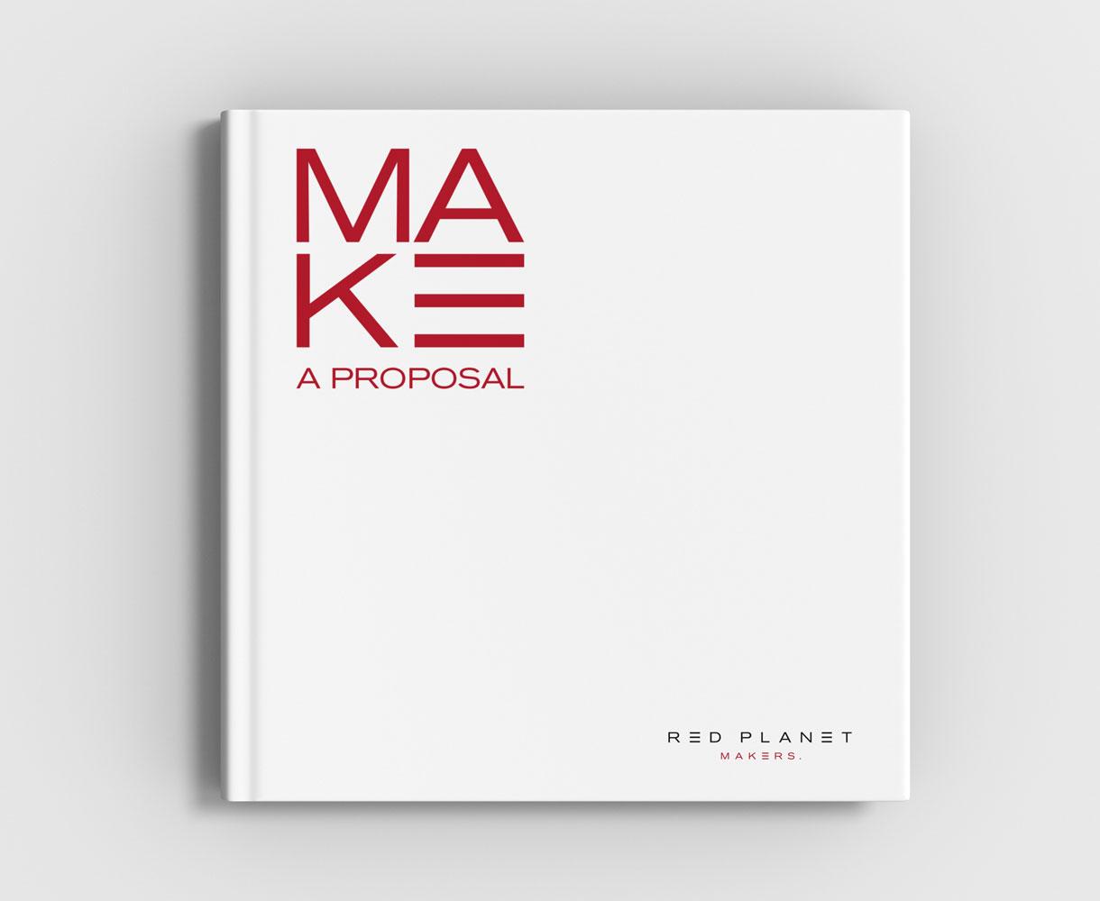 Red Planet Brand Development Brochure design