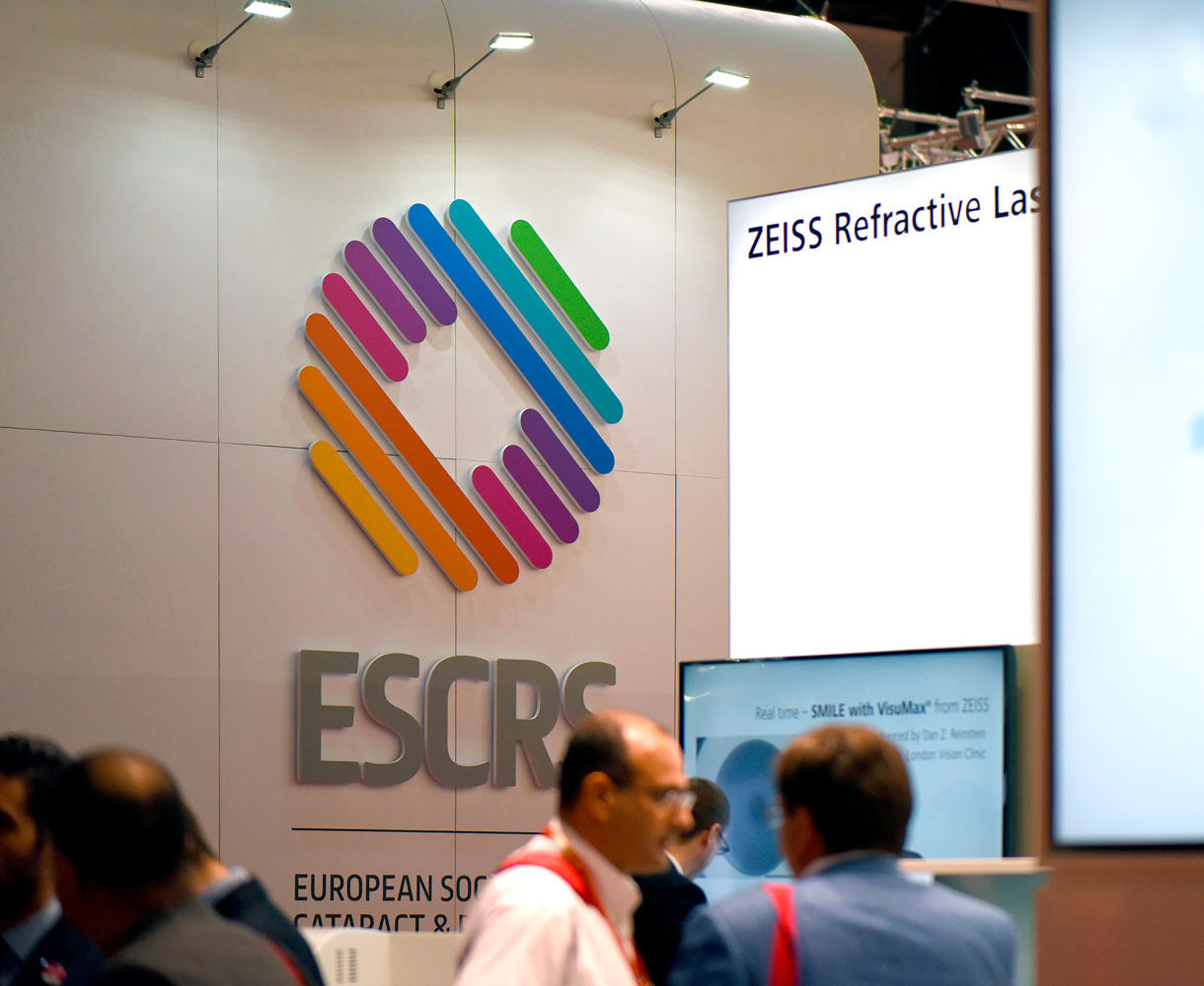 ESCRS Brand Development Conference tradeshow design Barcelona