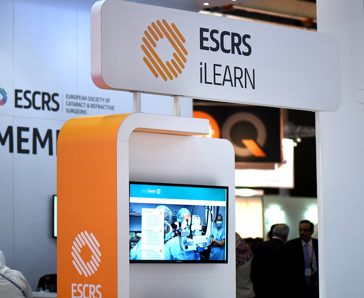 ESCRS Brand Design Tradeshow Event Design