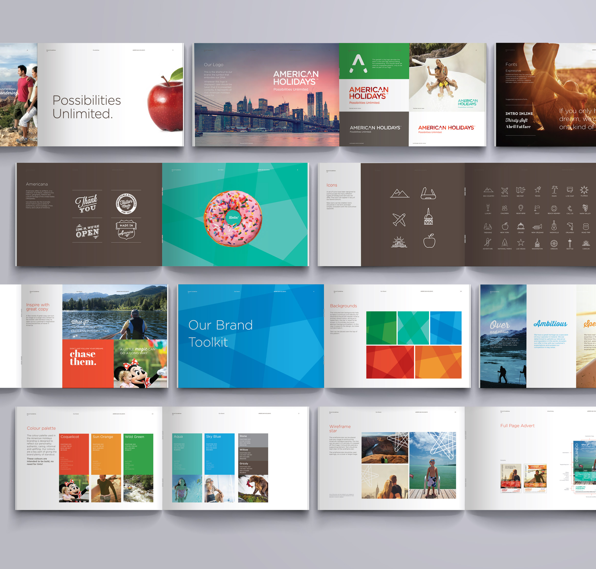 American Holidays Brand Identity Development Brand Guidelines