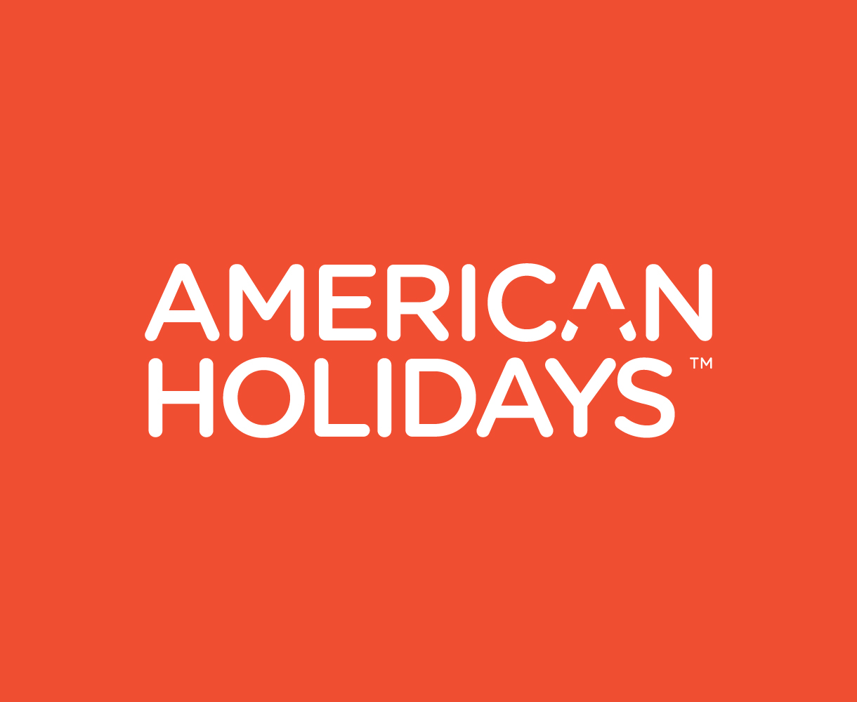American Holidays Brand Identity Development Logo