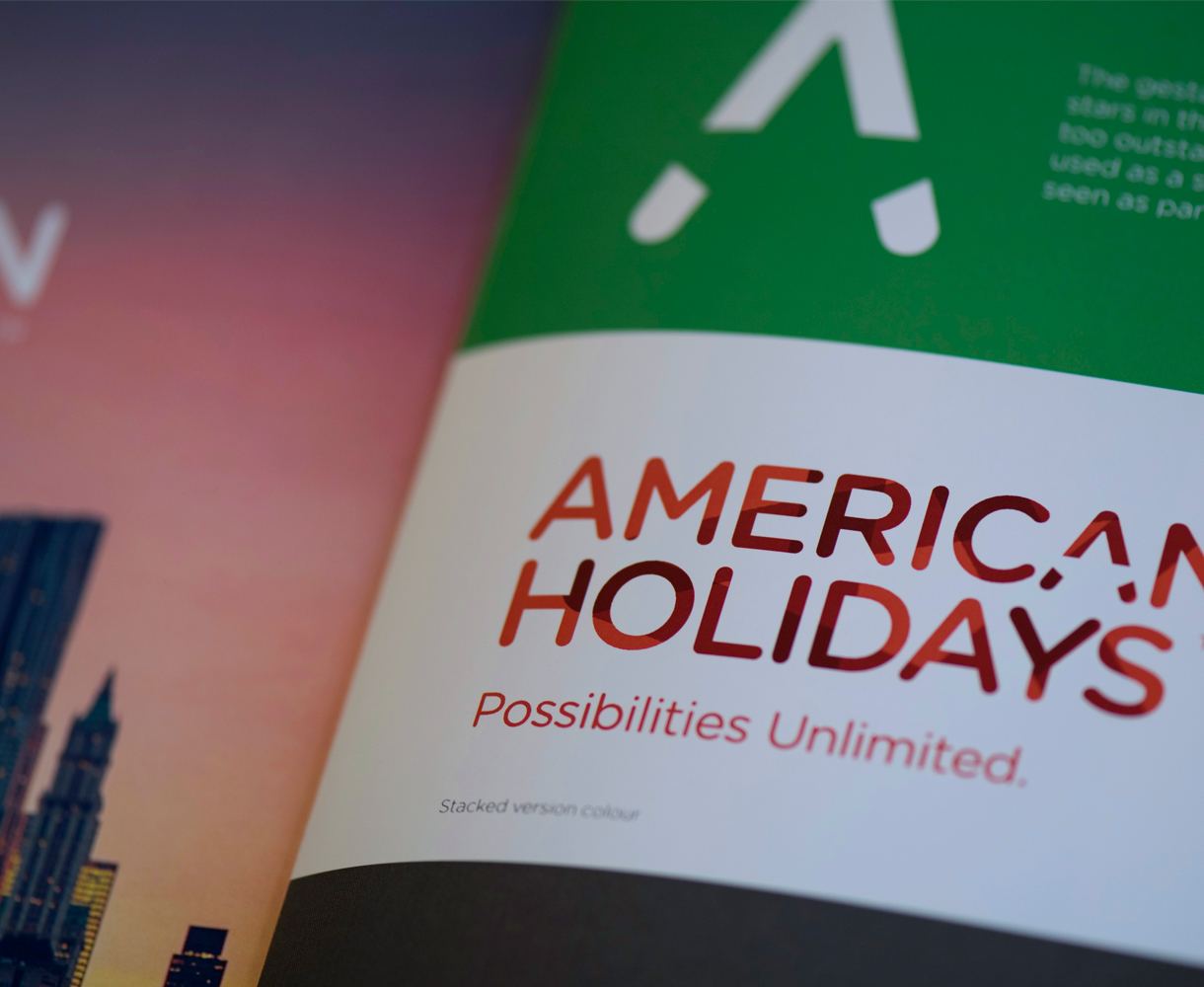 American Holidays Brand Development Brand Guidelines