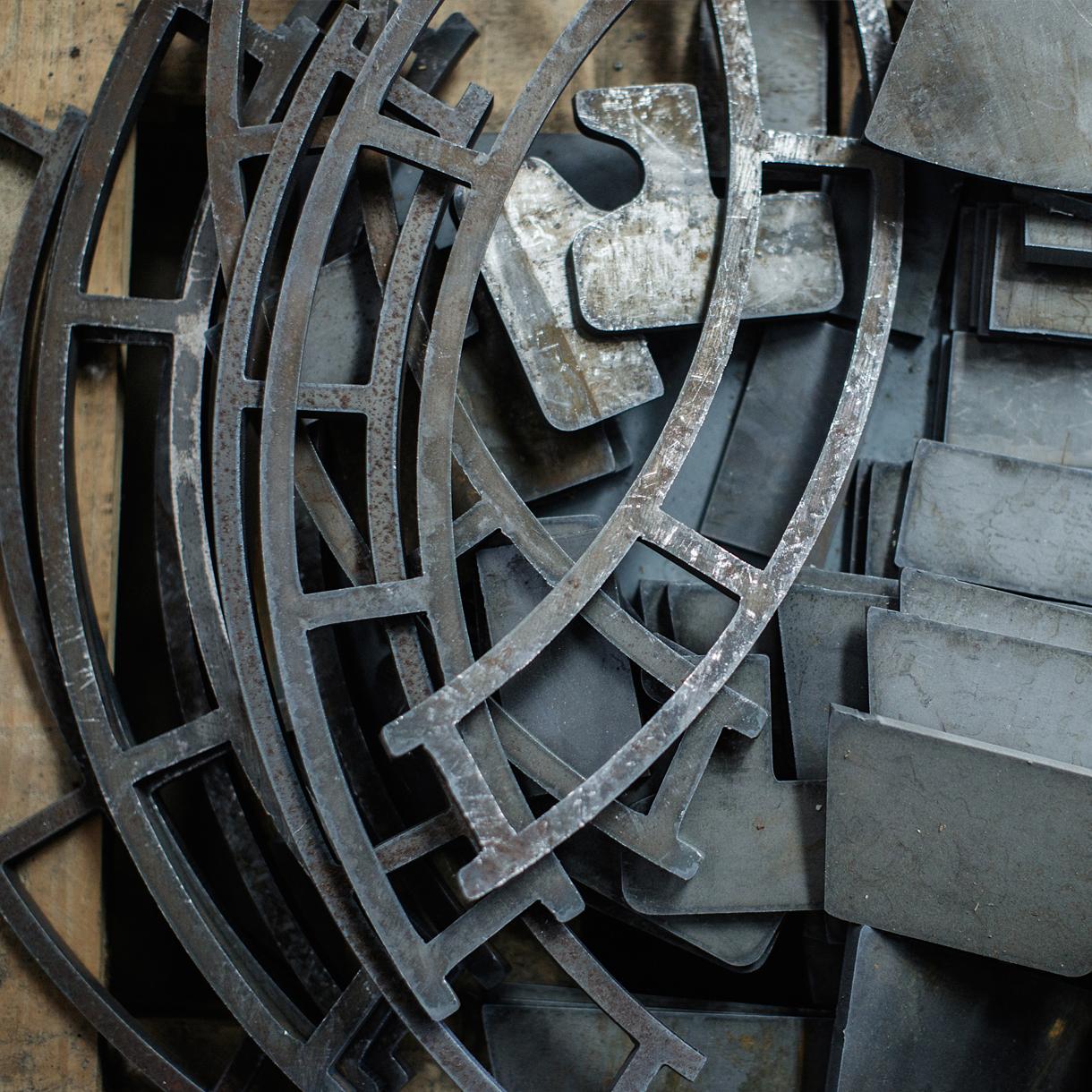 Principle brand agency Dublin Shearflint Branding Project steelworks