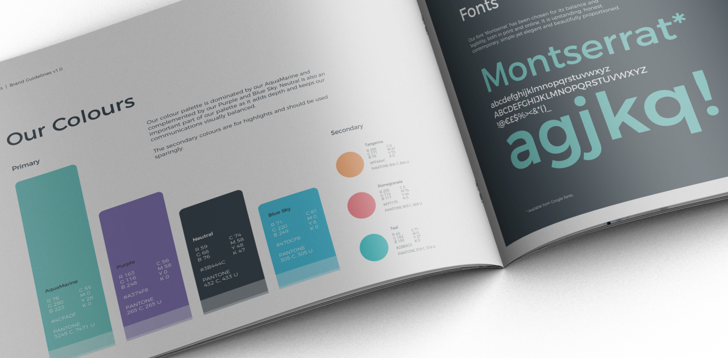 Principle brand agency Dublin Real World Analytics Brand Project visual guidelines