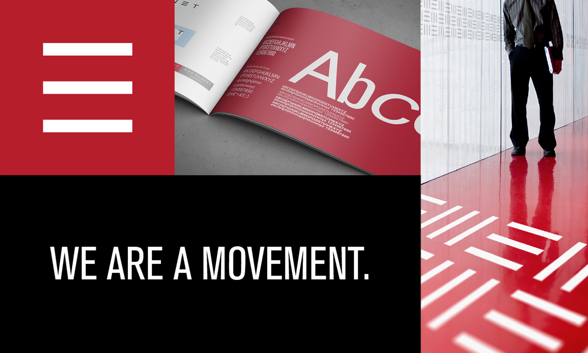Principle brand agency Dublin Red Planet Branding Project visual guidelines
