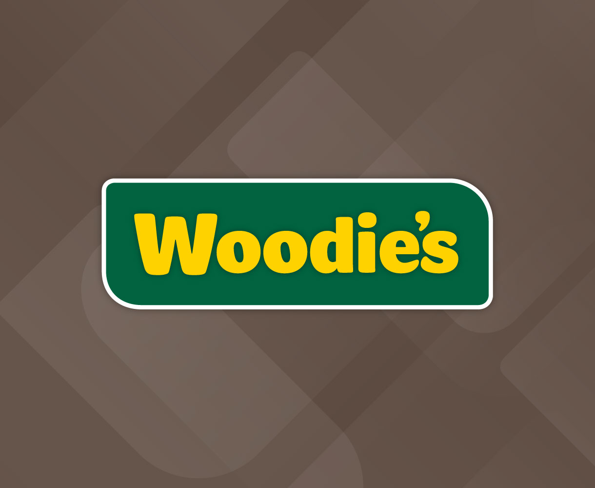 Principle brand agency Dublin Woodie's Brand Project logo