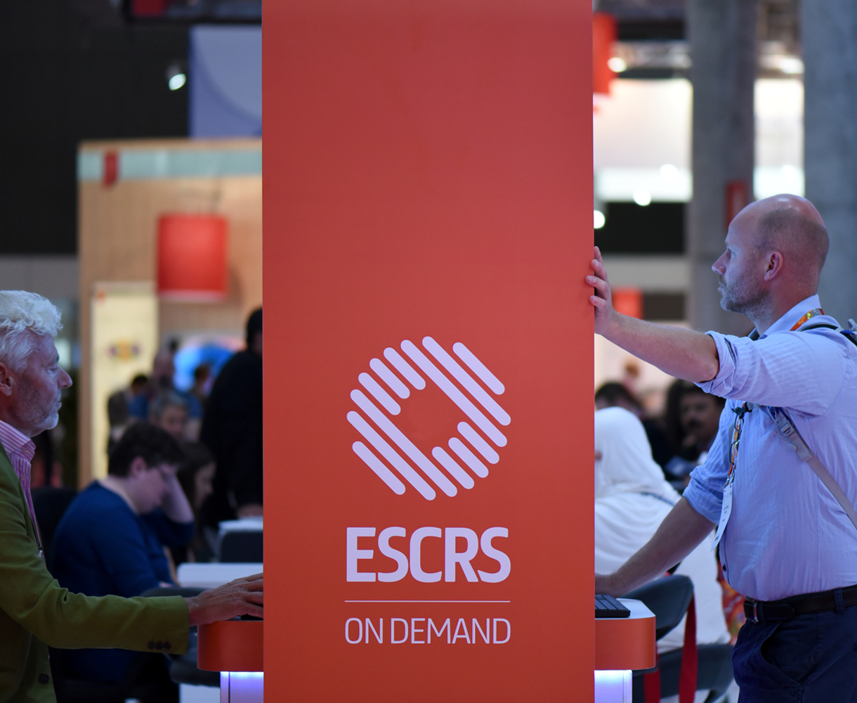 Principle brand agency Dublin ESCRS Brand Project Annual Congress Barcelona