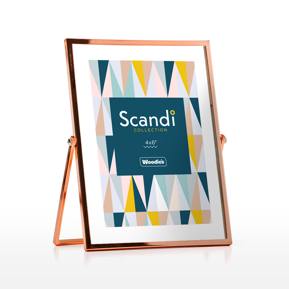 Principle brand agency Dublin Woodie's homewares brand design project scandi collection picture frame