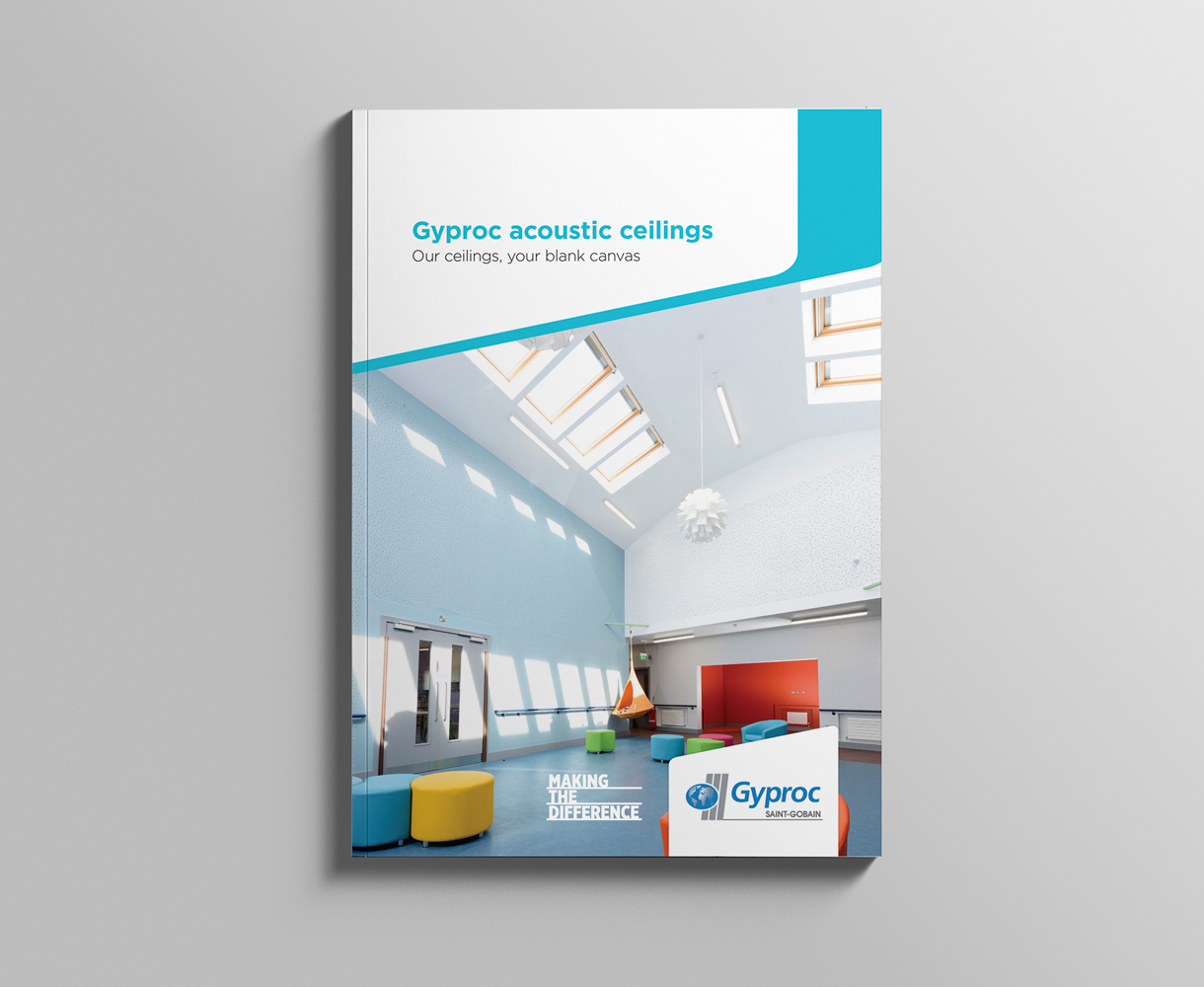 Campaign Design Gyproc Making the Difference brochure design