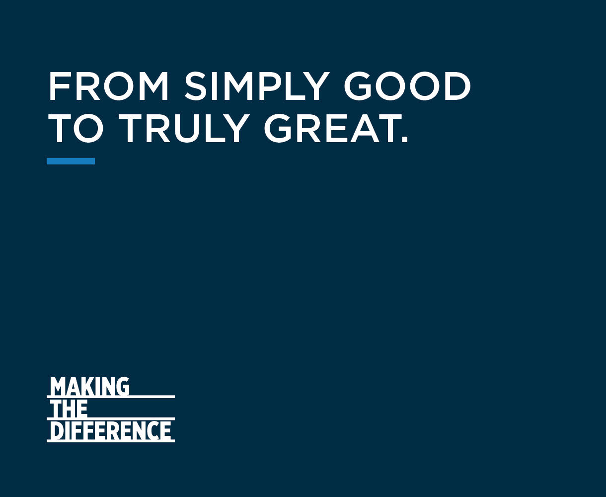 Campaign Design Gyproc Making the Difference tagline development