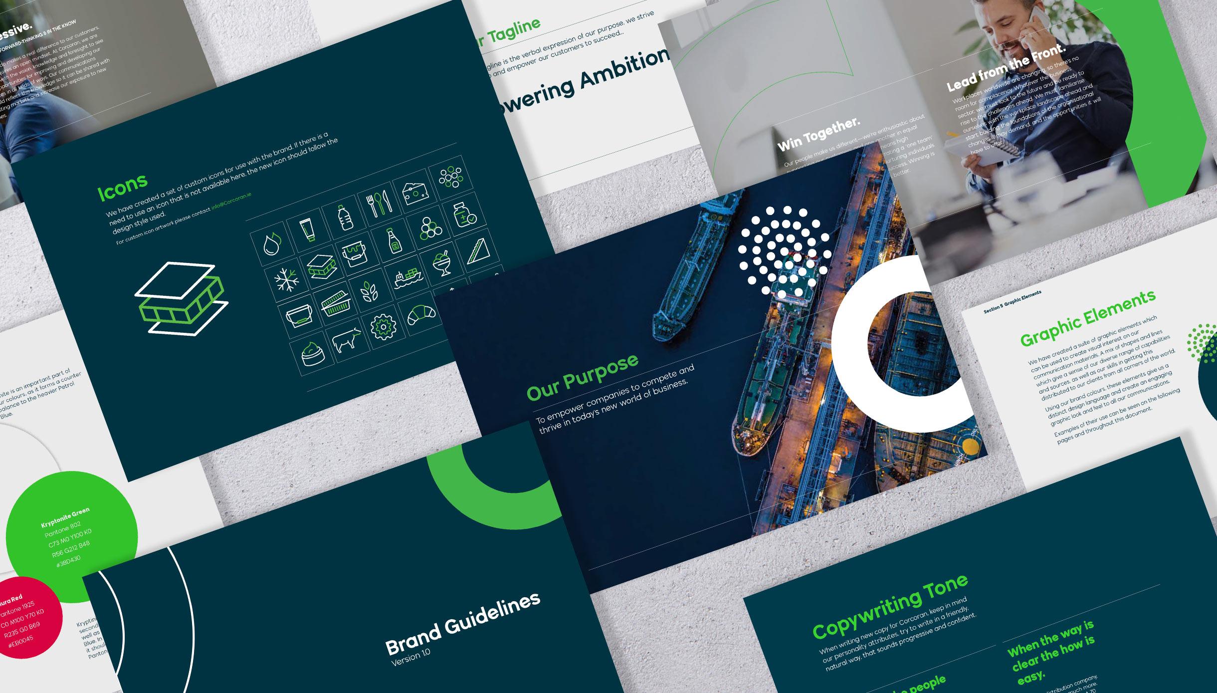 Principle Brand Development Corcoran Brand Guidelines